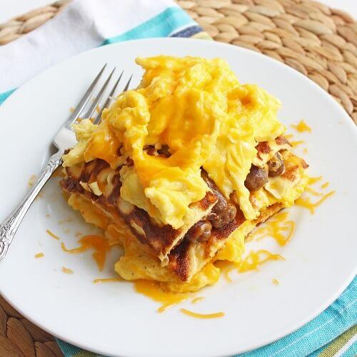 low carb breakfast lasagna