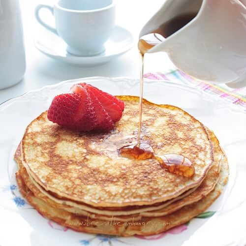 cream cheese pancakes low carb and gluten free