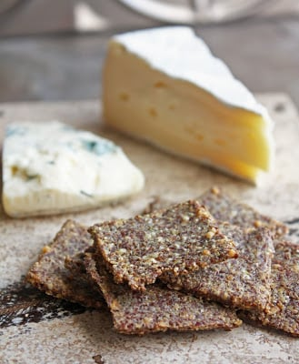 A keto friendly cracker that's perfect for all of your favorite cheeses!