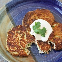 Low Carb Fish Cakes