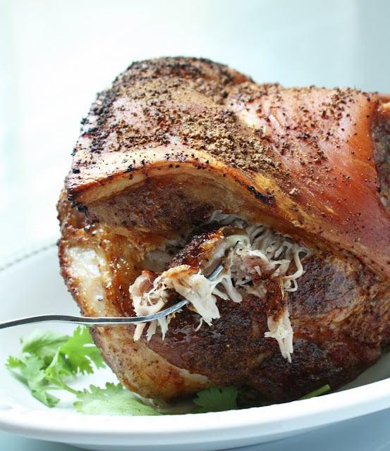 Easy Roasted Pork Shoulder Recipe - Low Carb, Paleo, Whole 30