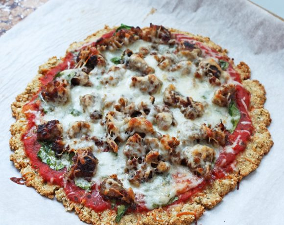 Low Carb & Gluten Free Pizza Crust