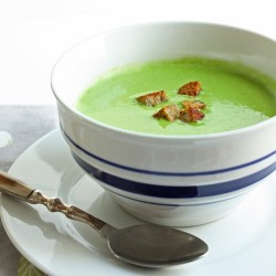 Spinach and Artichoke Dip Soup (Low Carb and Gluten Free)