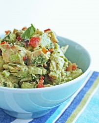 Southwestern Chicken Salad w/ Bacon & Avocado