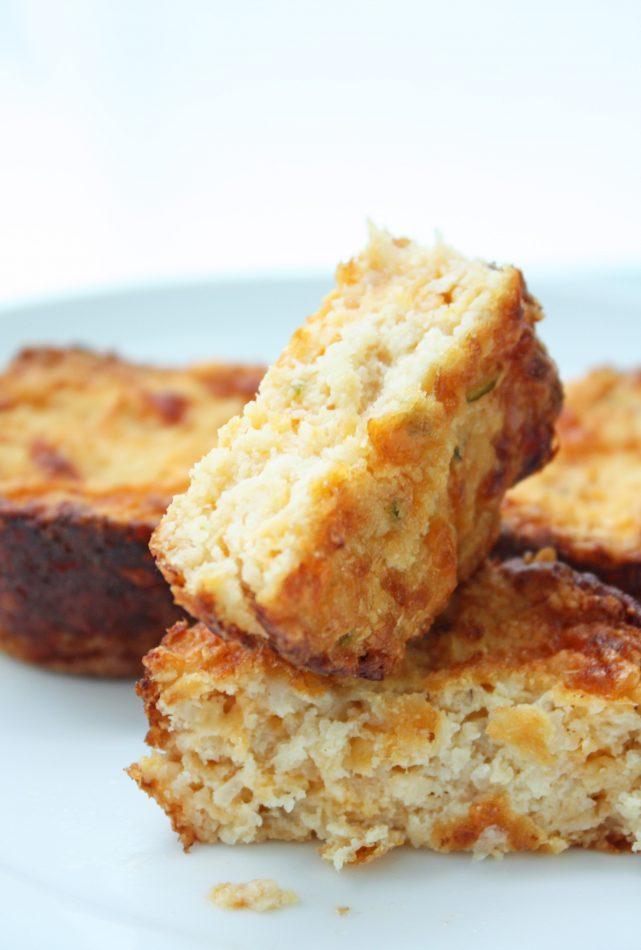Keto Jalapeno & Cheddar Cauliflower Muffins | I Breathe I'm Hungry