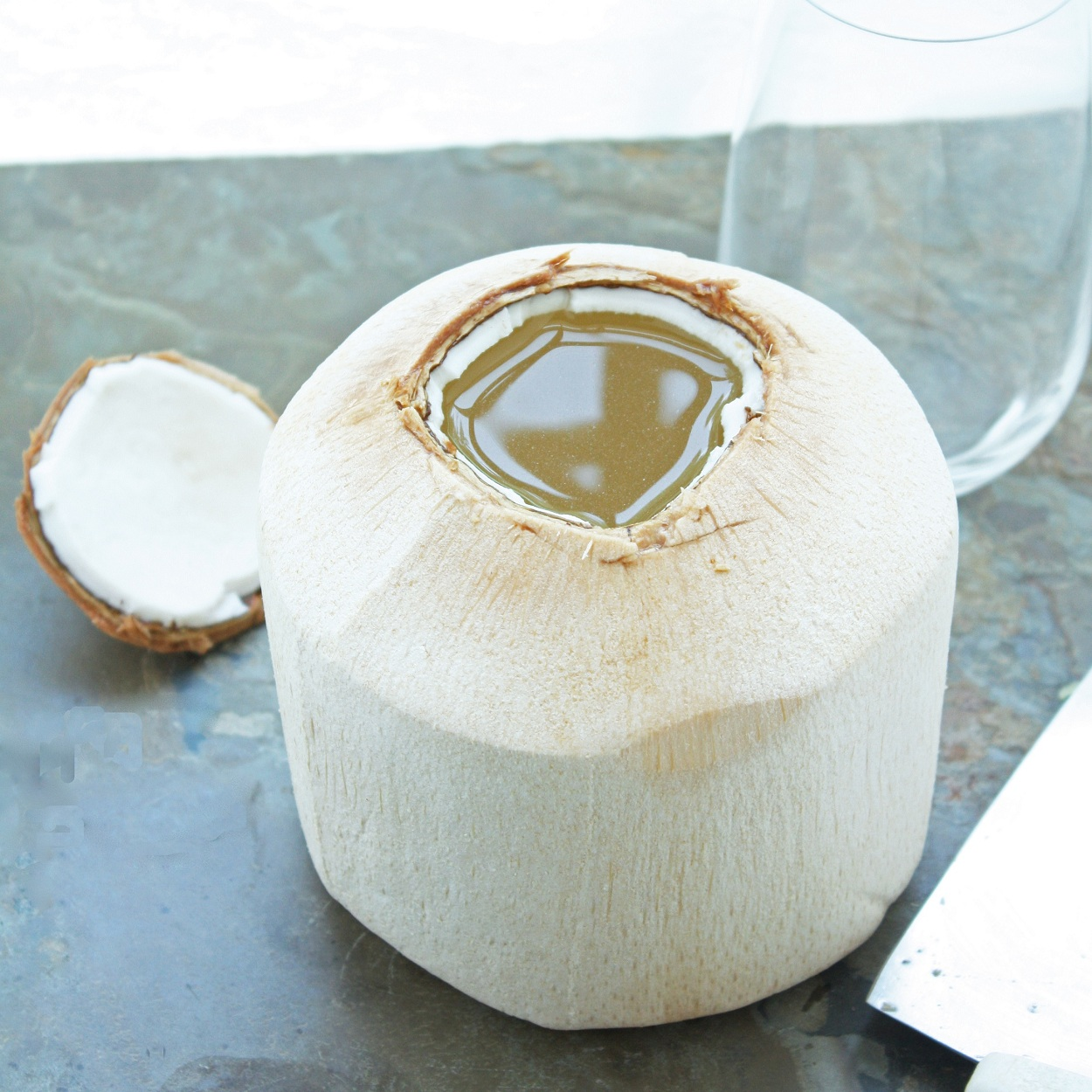 How to Open a Young Coconut & Why You Should Care! | I Breathe I'm Hungry