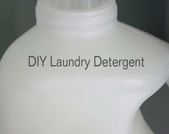 Foodless Fridays – Homemade Laundry Detergent