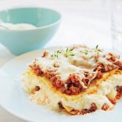 Gluten Free Lasagna w/ Garbanzo Bean Crepes
