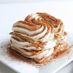 Low Carb Caramel Machiatto Tiramisu (Gluten Free)