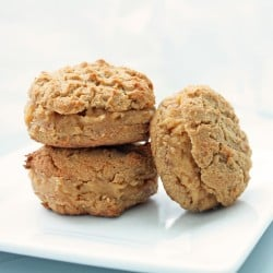 Low Carb Peanut Butter Sandwich Cookies