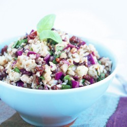 """Anti"" Pasta Cauliflower Salad – Low Carb and Gluten Free"