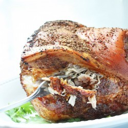 Easy Roasted Pork Shoulder