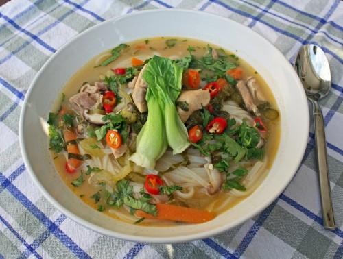 Thai Coconut Soup (Tom Kha Gai)