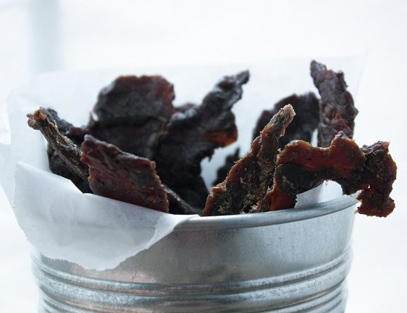 Low Carb Beef Jerky (Whole 30 compliant)