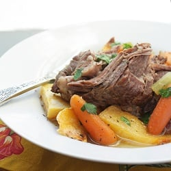 Easy Paleo Pot Roast (Whole 30 Compliant)