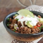 "10 Minute ""No Chop"" Low Carb Chili"