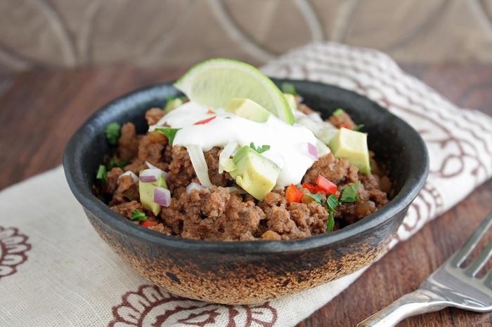 10 minute low carb chili 2