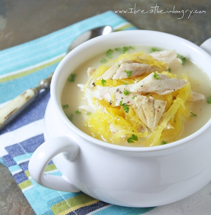 Low Carb Avgolemeno (Greek Chicken, Lemon & Egg Soup)