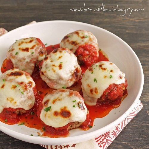 low carb recipe for meatballs