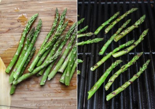 A delicious low carb grilled asparagus recipe