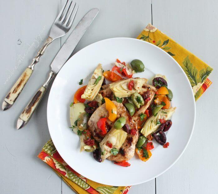 mediterranean grilled chicken
