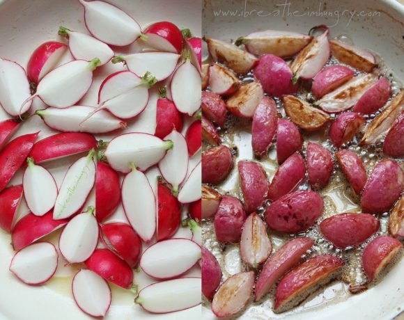 Pan Roasted Radishes (Low Carb & Gluten Free)