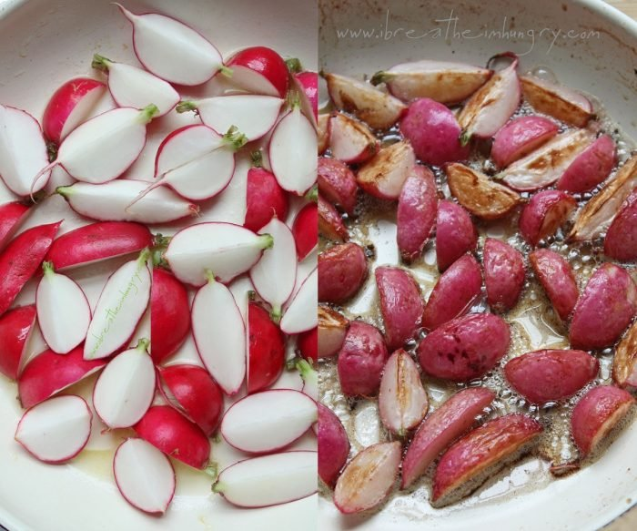 Pan Roasted Radishes
