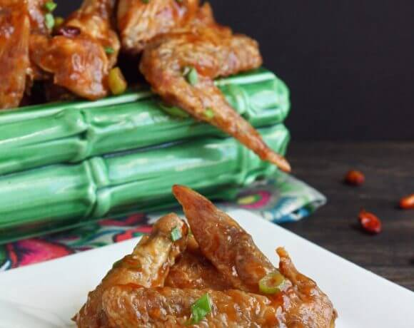 General Tso's Chicken Wings (Low Carb and Gluten Free)