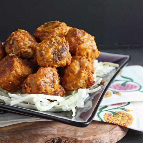 carolina bbq meatballs low carb and gluten free