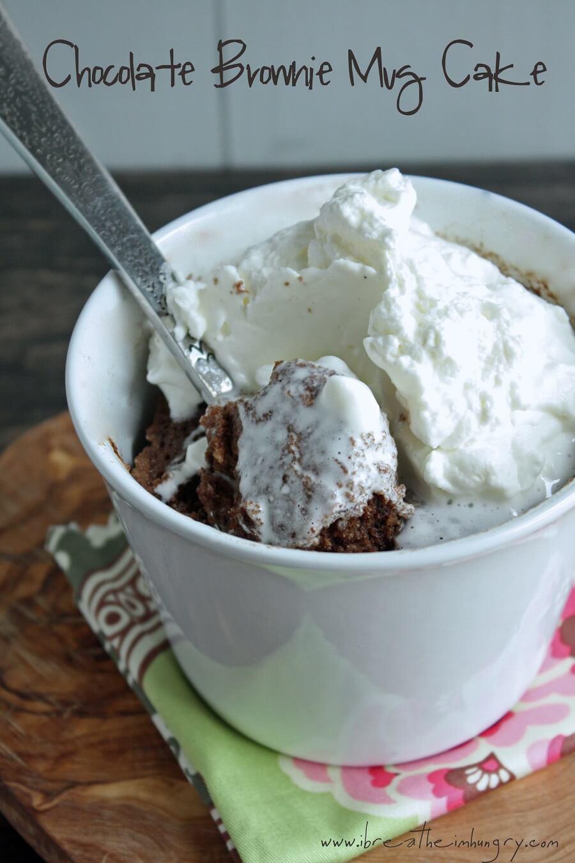 Chocolate Brownie Low Carb Mug Cake Gluten Free Ibih