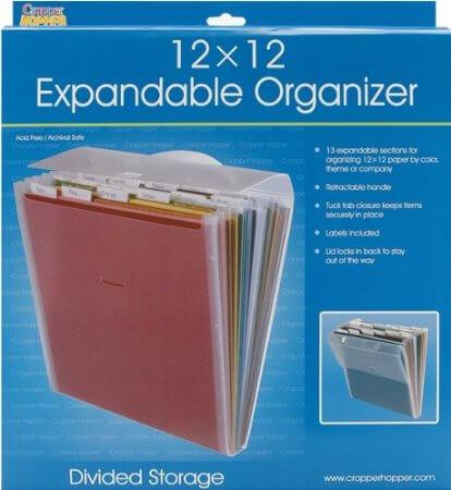 expandable file