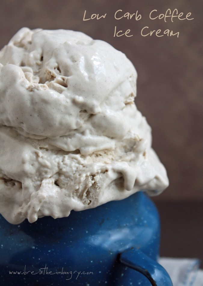 Low Carb Coffee Ice Cream Recipe | I