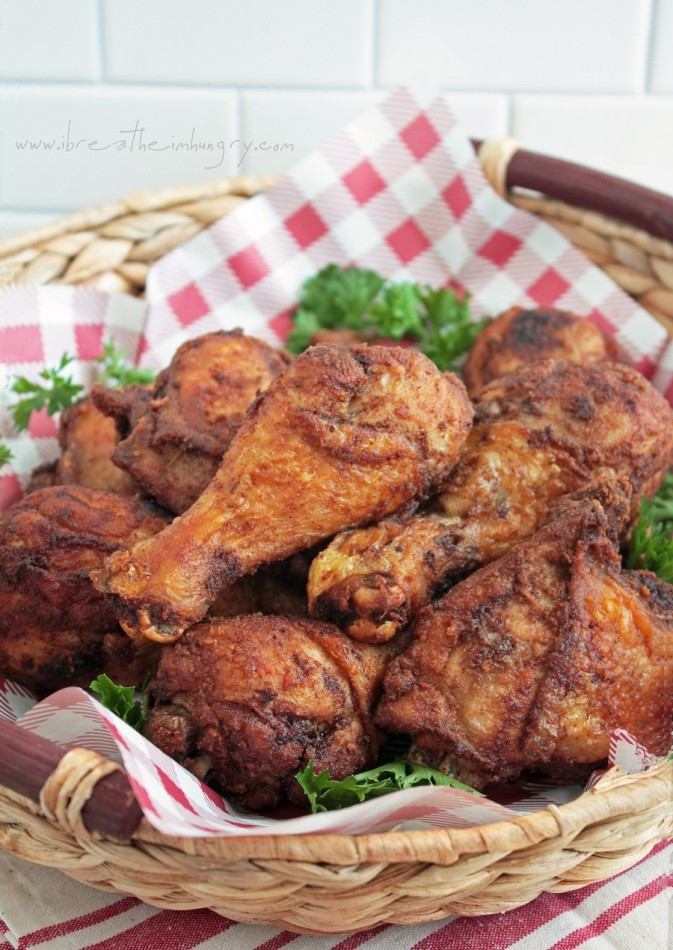 low carb and gluten free southern fried chicken