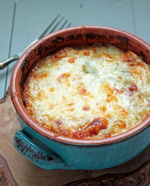 chipotle and cheese cauliflower casserole
