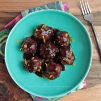 Jamaican Jerk Meatballs Low Carb and Gluten Free
