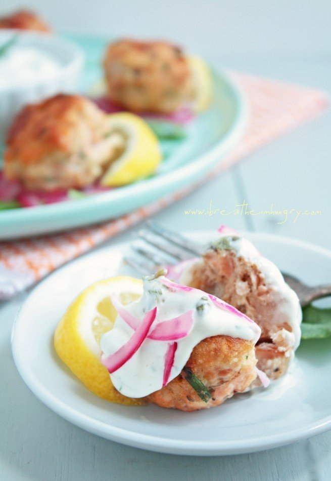 low carb salmon meatballs gluten free