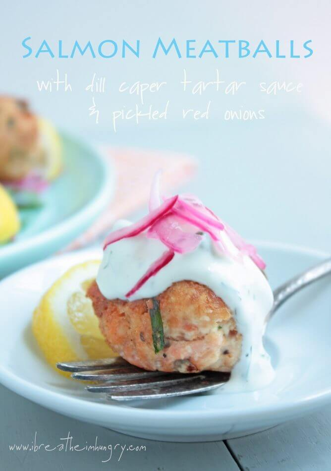 salmon meatballs low carb and gluten free