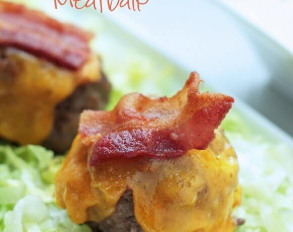 Keto Bacon Cheeseburger Meatballs – Gluten Free