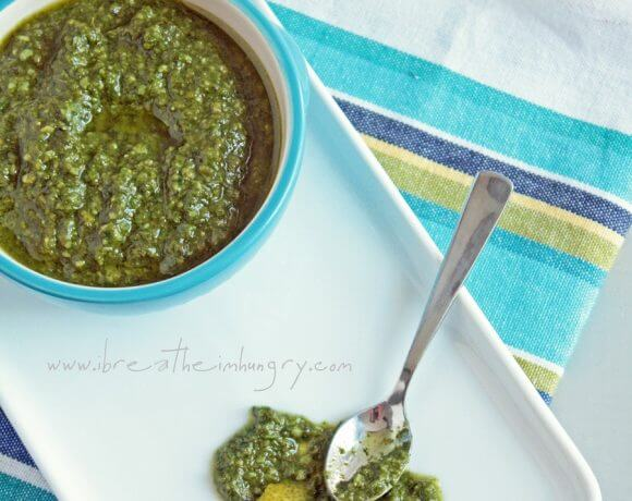 low carb recipe for lemon and basil pesto