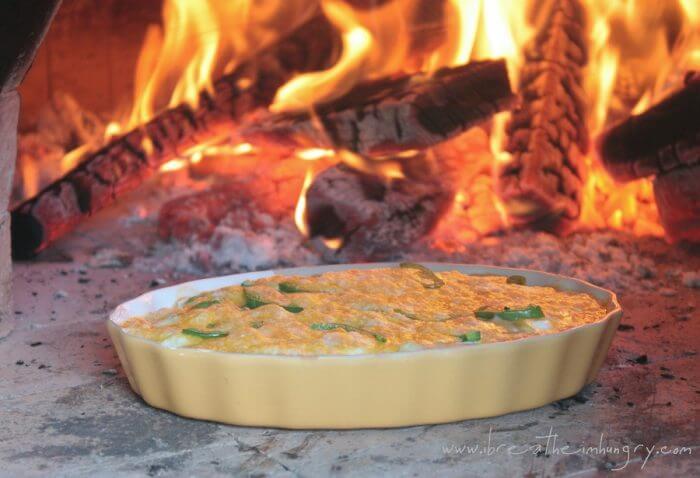 jalapeno popper cauliflower casserole low carb and gluten free recipe