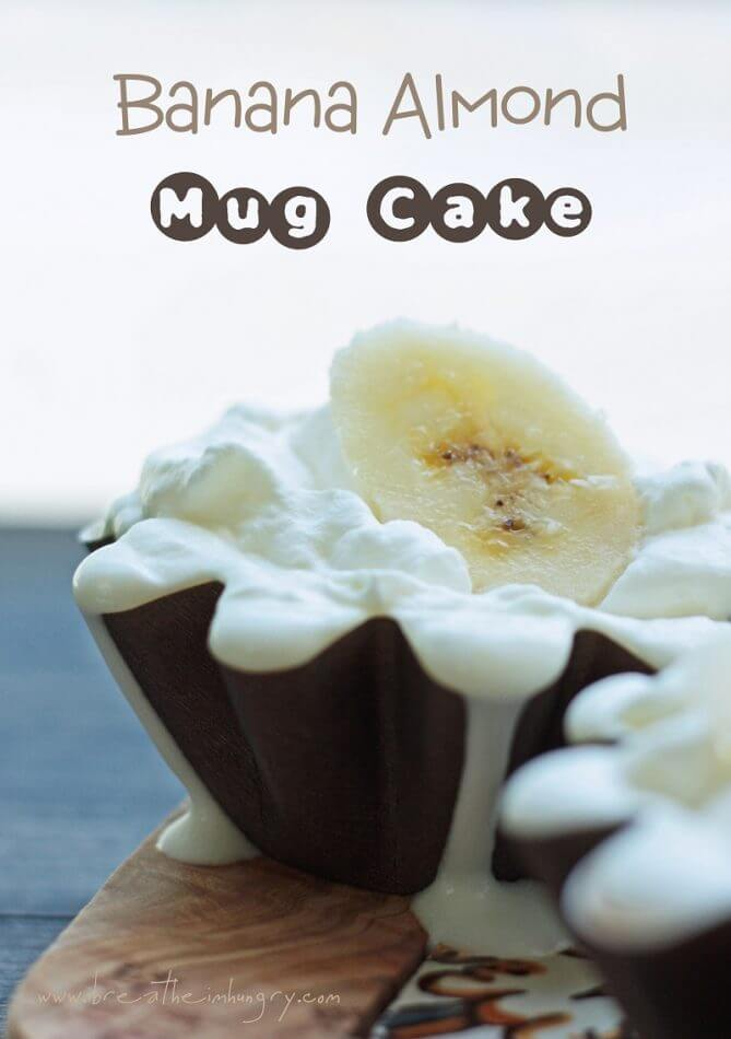 banana mug cake gluten free and low carb by mellissa sevigny