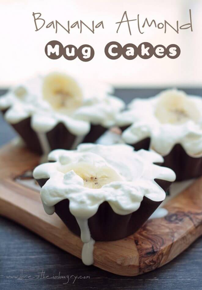 low carb and gluten free mug cake recipe from mellissa sevigny of ibreatheimhungry.com
