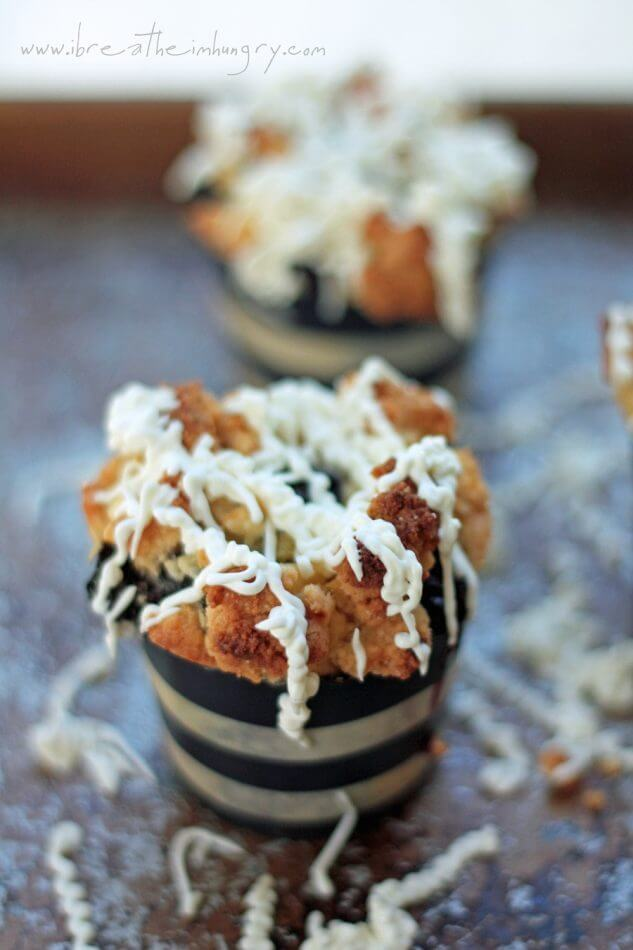 low carb blueberry muffin recipe from ibreatheimhungry.com