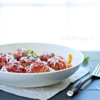 low carb italian meatball recipe from ibreatheimhungry.com