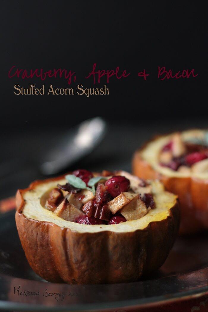 paleo stuffed acorn squash recipe by mellissa sevigny