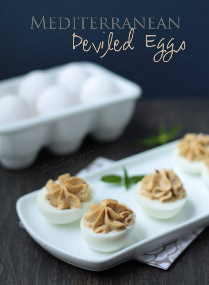 deviled egg recipe from ibreatheimhungry.com