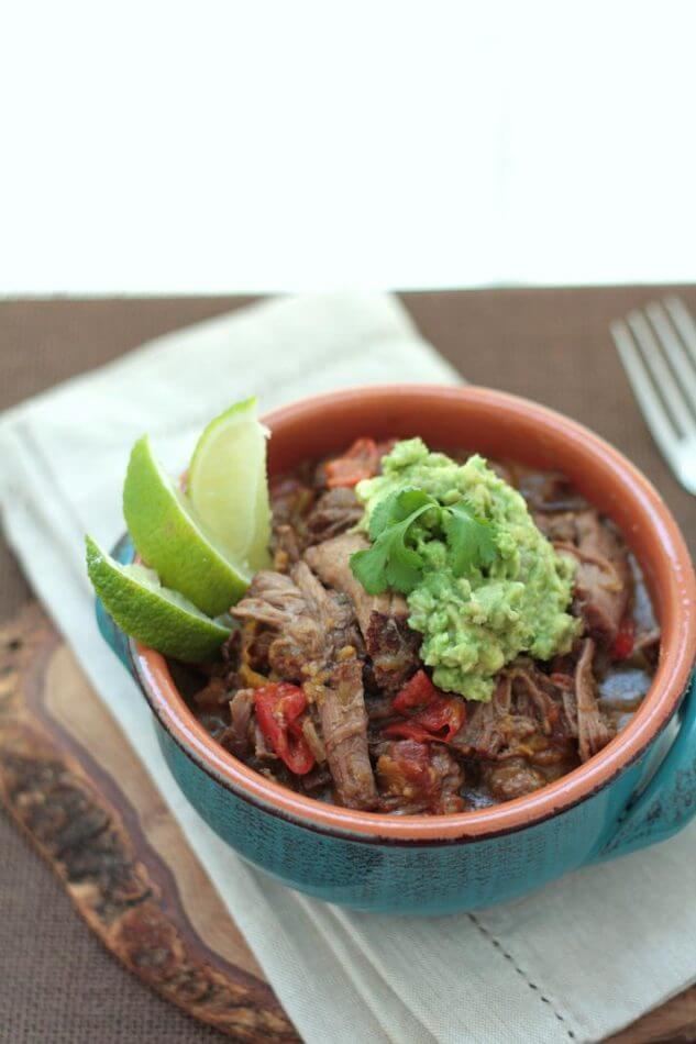 A fantastic low carb and Paleo Ropa Vieja style Cuban Pot Roast recipe