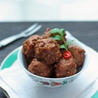 Pork Vindaloo Meatball Recipe – Low Carb and Gluten Free