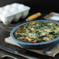 low carb breakfast recipe from ibreatheimhungry.com