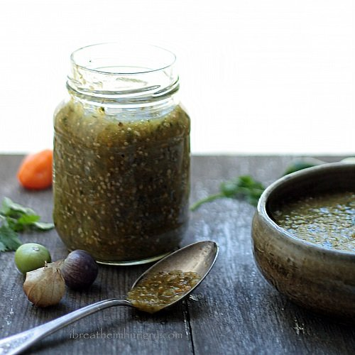Hot Salsa Verde Recipe — Dishmaps